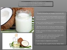 Home of Spices Cold Pressed Virgin Coconut Oil Coconut Oil Types, Best Coconut Oil, Extra Virgin Coconut Oil, Coconut Oil For Skin, Coconut Oil Health Benefits, Castor Oil Benefits, Fractionated Coconut Oil, Oils For Skin, Spices