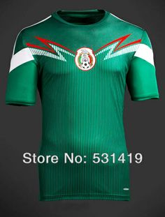 Mexico Soccer Jersey Best Thail Quality Football Mexico Soccer Uniforms Free Shipping Mexico 2014 World Cup Jersey $28.60 - 29.60