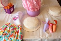 Very fun baking birthday party!  See more party ideas at CatchMyParty.com!