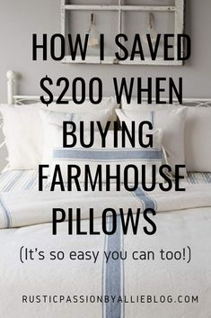 These Farmhouse Pillows are gorgeous and so cheap! You can decorate your dream home with these neutral throw pillows for your living room. Modern Farmhouse Living Room Decor, Farmhouse Furniture, Farmhouse Style, Modern Living, Rustic Farmhouse, Diy Pillows, Custom Pillows, Throw Pillows, Cheap Pillows