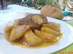 ΜΑΓΕΙΡΙΚΗ ΚΑΙ ΣΥΝΤΑΓΕΣ: Ρολό κιμά με πατάτες, κλασικό Κυριακάτικο φαγητό!! Yams, Pot Roast, Pork, Meat, Ethnic Recipes, Carne Asada, Pork Roulade, Pigs, Beef Stews
