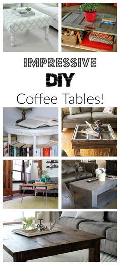 These coffee tables look beautiful! This site also has hundreds of other tutorials and tips on painting anything in or outside of your home!  A must REPIN for DIYers!