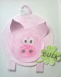 Buék Toy Story Crafts, Pig Crafts, New Year's Crafts, Crafts To Do, Hobbies And Crafts, Preschool Crafts, Crafts For Kids, Animal Art Projects, Animal Crafts