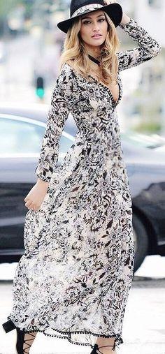 BW Boho Chic Maxi Dress                                                                             Source