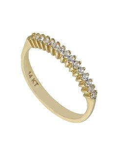 Δαχτυλίδι Σειρέ Χρυσό 14Κ με Ζιργκόν Αναφορά 019749 Ένα σειρέ δαχτυλίδι  κόσμημα που μπορείτε να κάνετε 1de08676c22