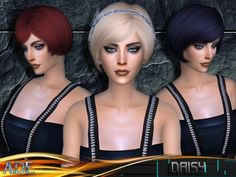 This hair style is created by Ade_Darma. It's the Daisy hair.  It looks great.