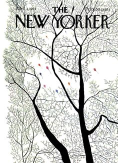 The New Yorker - Saturday, April 3, 1971 - Issue # 2407 - Vol. 47 - N° 7 - Cover by : Raymond Davidson