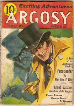 Argosy Weekly, 1935, Dec 21. Couldn't find the name of the artist, alas.