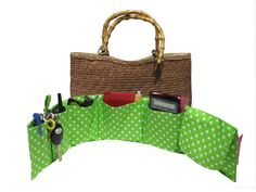 Second Link down this page is a PDF for this Purseket - Purse Organizer Insert - Medium