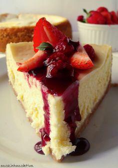 A Cozinha Coletiva: Blogagem Coletiva: Cheesecake