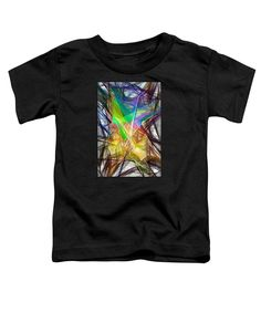 Toddler T-Shirt - Abstract 9618