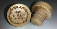 Marbach Wedding!! www.coolwinestoppers.com