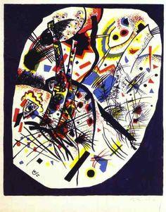Wassily Kandinsky, Small Worlds III on ArtStack #wassily-kandinsky-vasilii-vasil-ievich-kandinskii #art