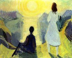 Sámal Joensen-Mikines (1906-1979) - The Morning Sun, 1947