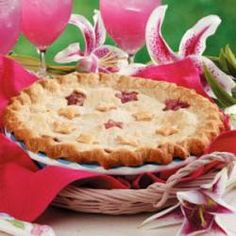 Pineapple Rhubarb Pie Allrecipes.com