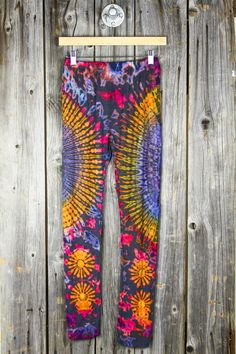 Thai Super Soft Tie-Dye Leggings