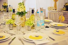 Dorset wedding citric yellow