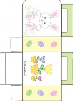 32 best gift boxes easter images on pinterest gift boxes boxes easter free printable boxes and bags negle Choice Image