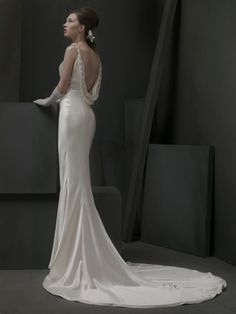 ST. PUCCHI - Love the trim on the back.