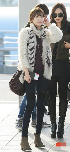 Sooyoung's airport fashion    #sooyoung #snsd #girlsgeneration