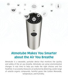The first truly personal, most affordable device that helps you breathe cleaner, healthier air. | Crowdfunding is a democratic way to support the fundraising needs of your community. Make a contribution today!