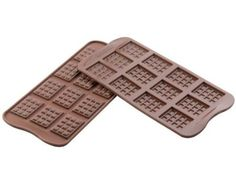 Make your own coconut oil chocolate bars!  Amazon.com: Silikomart Silicone Chocolate Candy Bar Mold: Kitchen & Dining