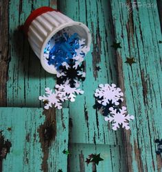 k cup confetti poppers, craft rooms, repurposing upcycling