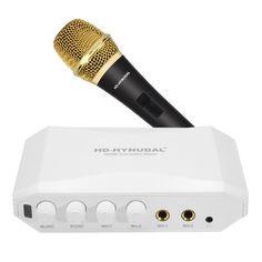 HD-Hyundal HDMI Karaoke Mixer - Dual Microphone Input, Echo Effect