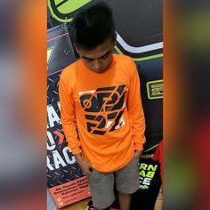 T-shirt OP27 Factory Racing TOP27-007 Orange LS (lengan panjang). Tinggal 1 pcs size XXL  087845622777 (WA, SMS, & Telp) / D17560D1 (BBM) / op27factory (LINE)