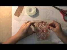 Anna Griffin Style Thank You Card - YouTube