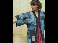 w kimono boro