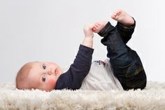 This Studio Families, Canberra Newborn & Baby Photography, 4 month old posing, Baby studio photography