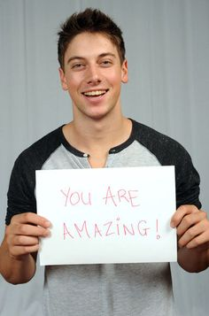 Home and Away, Believe that you are Amazing because you are!!