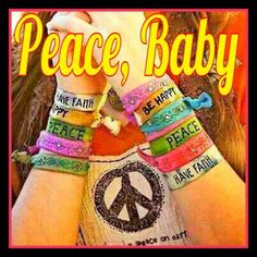 Peace, Baby - Thank you Groovy Ladyz for the Groovy Post! Peace! ☮