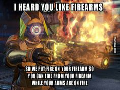 Yo dawg... I heard you like firearms...