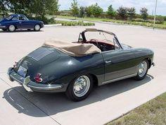 1963 Porsche 356 Cabriolet -