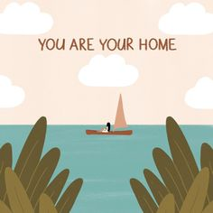 """Lou on Instagram: """"'You are your home.' Prints and other products available via link in bio!"""" Artist Names, Prints, Illustrations, Instagram, Link, Home, Products, Illustration, Ad Home"""