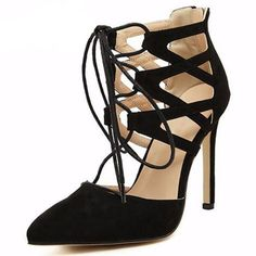 Sexy Thin Heels Shoes | Furrple