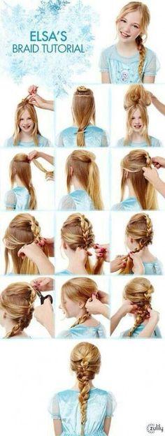 Frozen hair - Ana