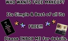 Do you want FREE MAKEUP?? Please comment here :) #freemakeup#younique#youniquecosmetics#workfromhome#debtfree#kimkardashian#makeup#livingthedream www.lashedbykiki.com