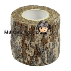 Find More Travel Kits Information about Military 1 Roll Camo Stretch Bandage Paintball Airsoft Tape Desert Camo  Camping Hunting Camouflage Tape (4.5M) for Gun Freeship,High Quality tape relief,China hunting jackets for men Suppliers, Cheap tape paper from Military World on Aliexpress.com