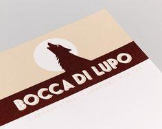 Bocca Di Lupo Interior design and Identity Design. www.heredesign.co.uk