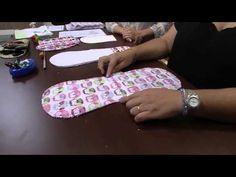 A artesã Ana Cristina Campos nos ensina a fazer um lindo babador.