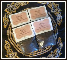 Protection Powder Incense ~ Wicca ~ Witch ~ Pagan ~ Rituals ~ Incense ~ Spell Casting ~ Altar ~ Aromatherapy ~ Self Lighting Incense by SummerlandBB on Etsy