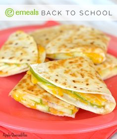After-School Snacks: Three-Ingredient Apple Quesadillas | eMeals