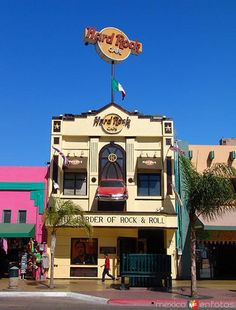 Hard Rock Cafe, Tijuana, Mexico now closed.  Been there more than all the others- prob. 15 times.