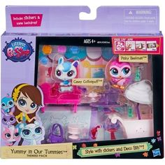 Littlest Pet Shop Yummy In Our Tummies