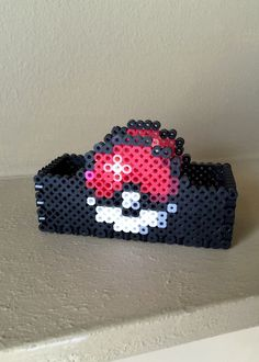 Pokemon Inspired 8 Bit Business Card Holder via eb.perler. Click on the image to see more!