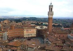 The Torre del Mangia is a tower in Siena, in the Tuscany region of Italy. Built in it is located in the Piazza del Campo. Places Ive Been, Places To Go, Regions Of Italy, Free Travel, Italy Travel, Italy Trip, Dream Vacations, Pisa, Travel Photos