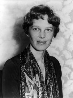 Amelia Earhart - American aviation pioneer #internationalwomensday #ameliaearhart